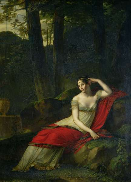 Portrait of the Empress Josephine (1763-1814), 1805 (oil on canvas)