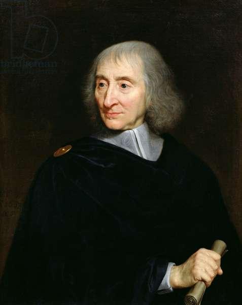 Arnauld d'Andilly, 1667 (oil on canvas)