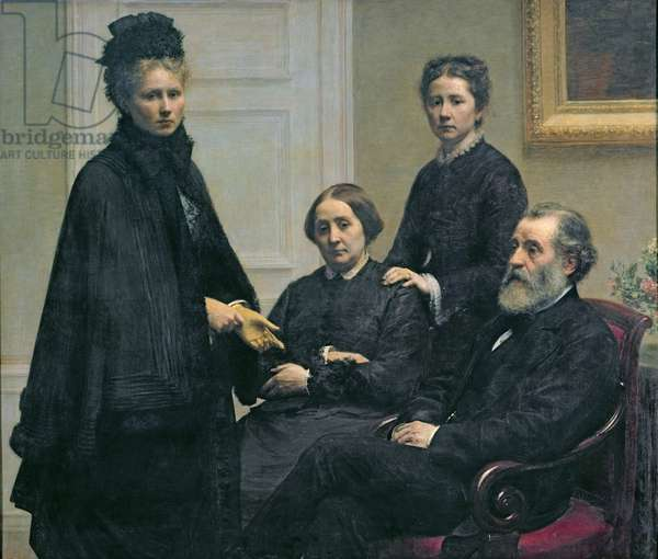 The Dubourg Family, 1878 (oil on canvas)