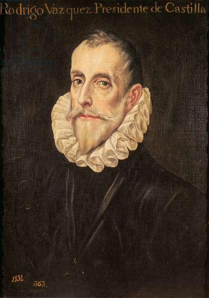 Don Rodrigo Vázquez de Arce (oil on canvas)