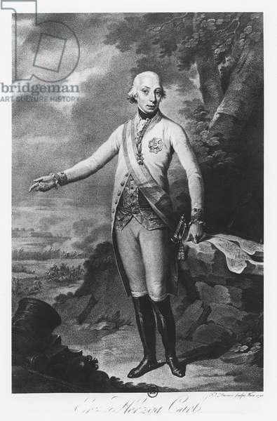 Charles, Archduke of Austria, 1798 (engraving)