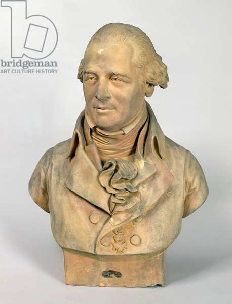 Bust of Louis-Pierre Deseine (1749-1822) 1807 (stone)