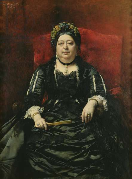 Portrait of Madame Leopold Stern, 1879 (oil on canvas)