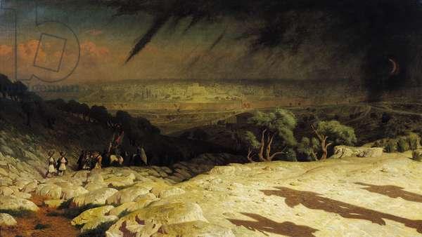 Jerusalem (Golgotha, Consummatum Est, Crucifixion) 1867 (oil on canvas)