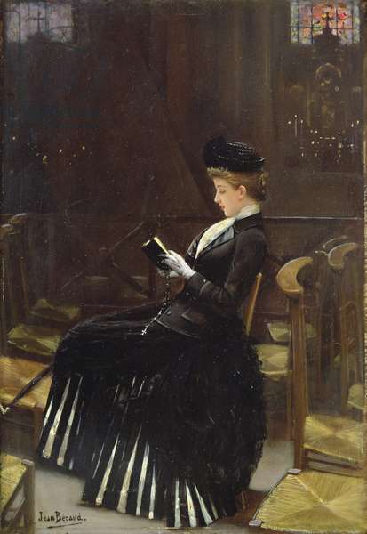 A Woman at Prayer, c.1889 (oil on canvas)