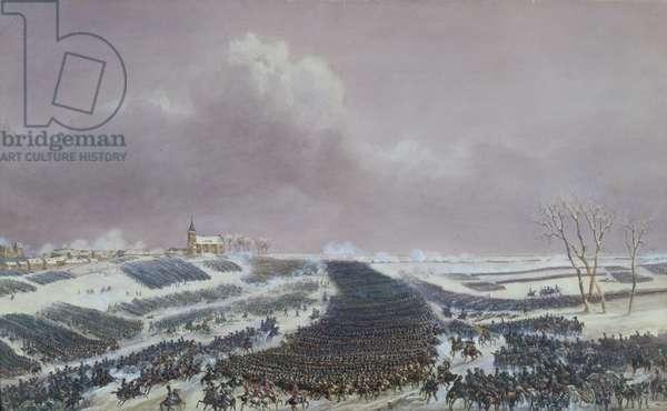 The Battle of Eylau, 8th February 1807 (w/c on paper)
