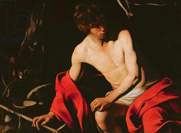 St. John the Baptist, c.1604-1606 (oil on canvas)