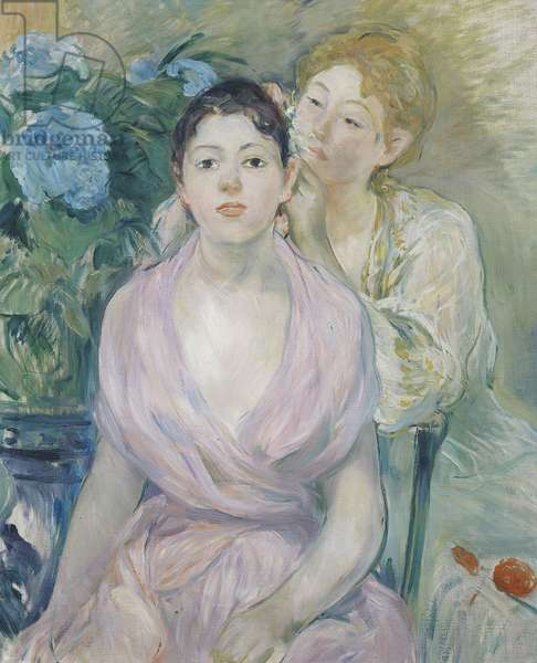 The Hortensia, or The Two Sisters, 1894 (oil on canvas)