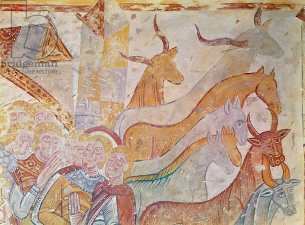 The Cleansing of the Temple (fresco) (detail)