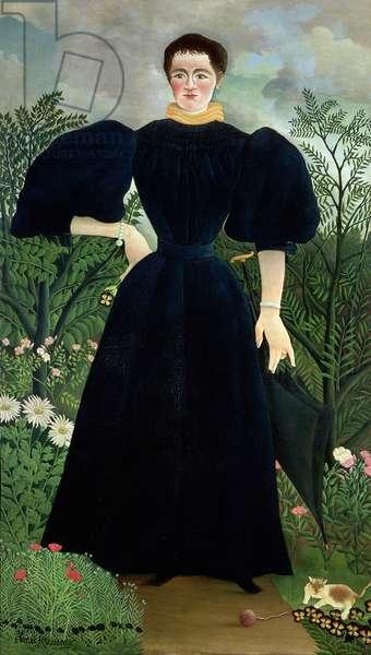 Portrait of a Woman, c.1895-97 (oil on canvas)