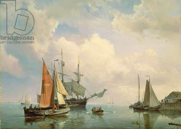 Marine (oil on canvas)