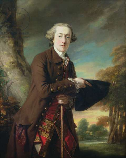 Portrait of Charles Colmore, c.1760-65 (oil on canvas)