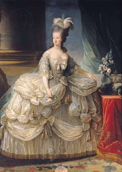Marie Antoinette (1755-93) Queen of France, 1779 (oil on canvas)