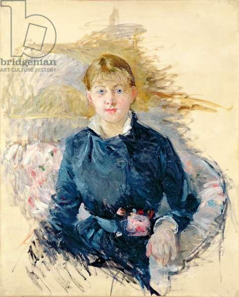 Portrait of Louise Riesener, 1881 (oil on canvas)