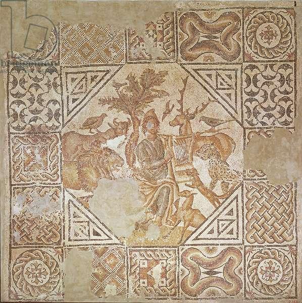 Orpheus Charming the Animals (mosaic)