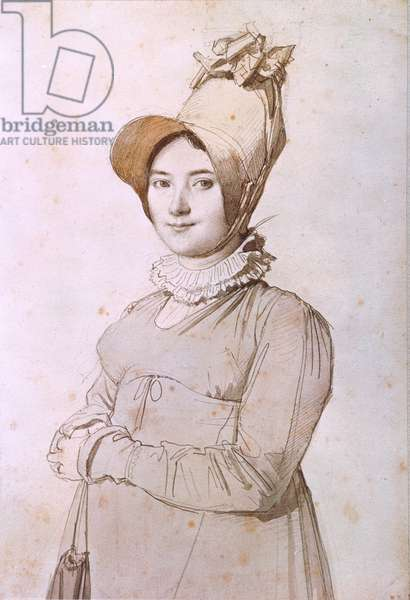 Madeleine Chapelle (1782-1849) 1813 (pen & ink and w/c on paper)