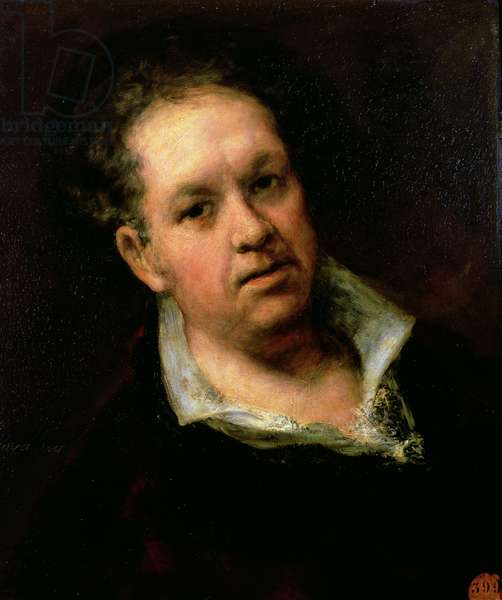 Self Portrait, 1815 (oil on canvas)