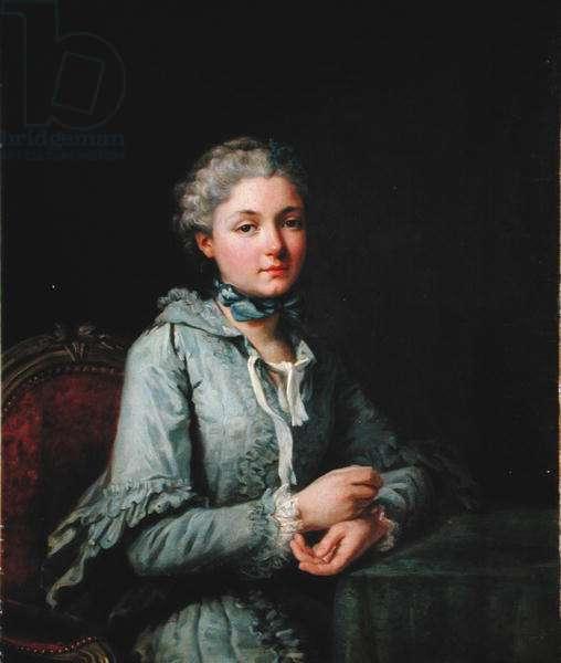 Innocente-Guillemette de Rosnyvinen de Pire, Countess of Villeteart, 1747 (oil on canvas)