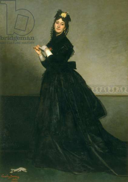 The Woman with the Glove, 1869 (oil on canvas)