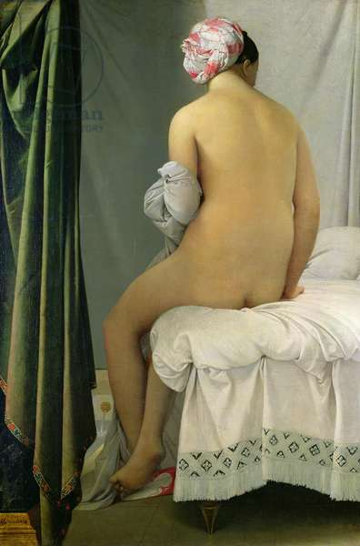 The Bather, called 'Baigneuse Valpincon', 1808 (oil on canvas)
