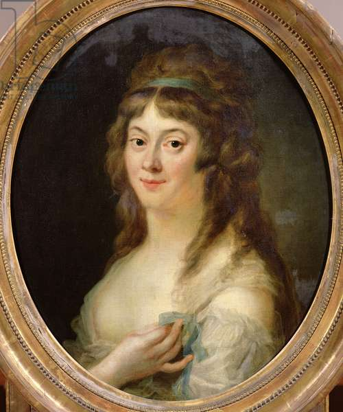 Madame Jeanne-Marie Roland de la Platiere (nee Philippon) (1756-93) 1792 (oil on canvas)