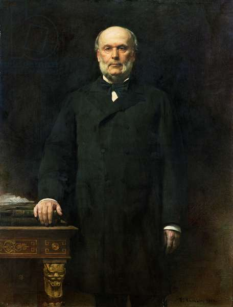 Portrait of Jules Grevy (1807-91) 1880 (oil on canvas)