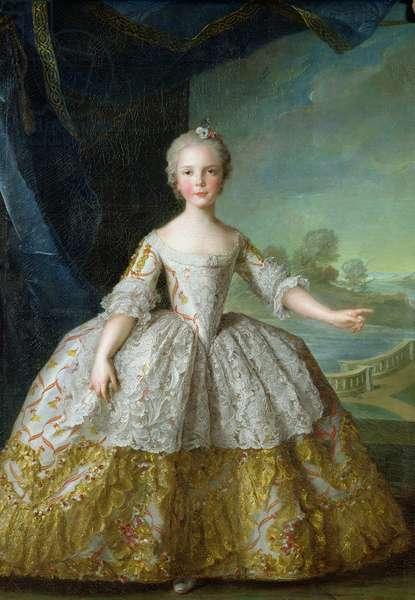 Infanta Isabelle de Bourbon-Parma (1741-63) 1749 (oil on canvas)