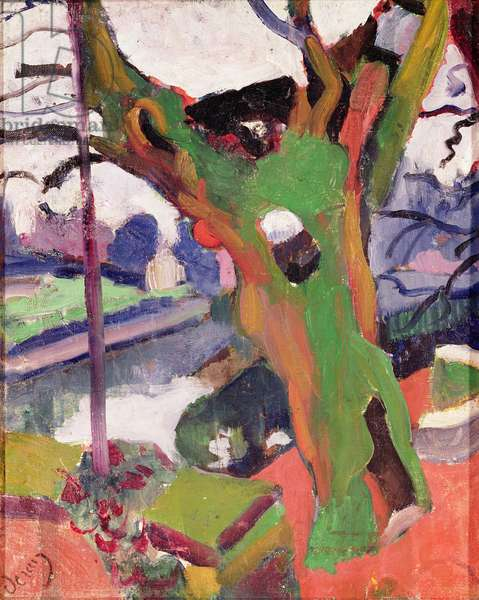 The Old Tree, 1905 (oil on canvas)