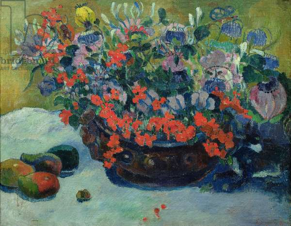 Bouquet of Flowers, 1897 (oil on canvas)