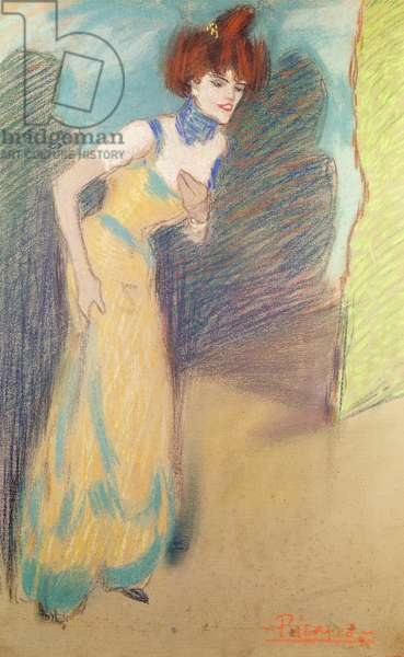 The Last Number, 1900-01 (pastel on paper)