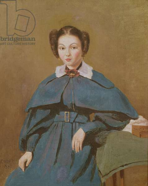 Portrait of Madame Baudot, the Artist's Niece, 1837 (oil on canvas)