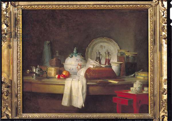 The Officers' Mess or The Remains of a Lunch, 1763 (oil on canvas)