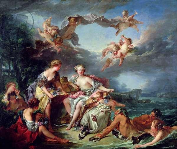 The Rape of Europa, 1747 (oil on canvas)
