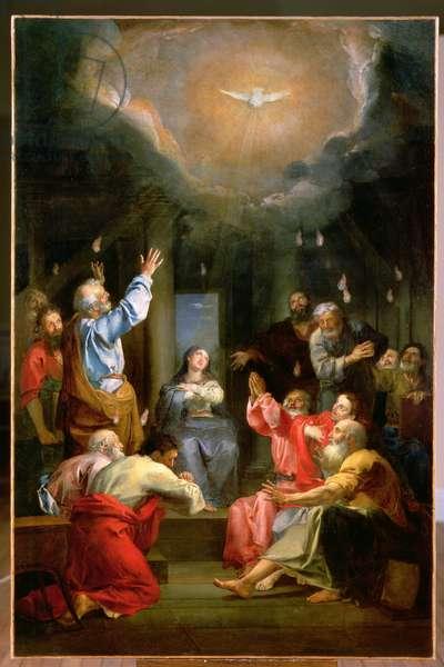 The Pentecost (oil on canvas)