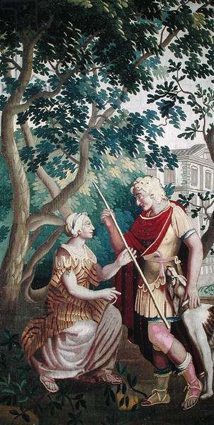 Cephalus and Procris, Beauvais Workshop (tapestry)