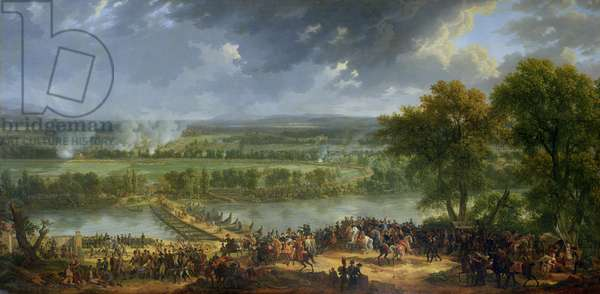 Battle of Pont d'Arcole, 15th-17th November 1796, 1803 (oil on canvas) (also see 174337)