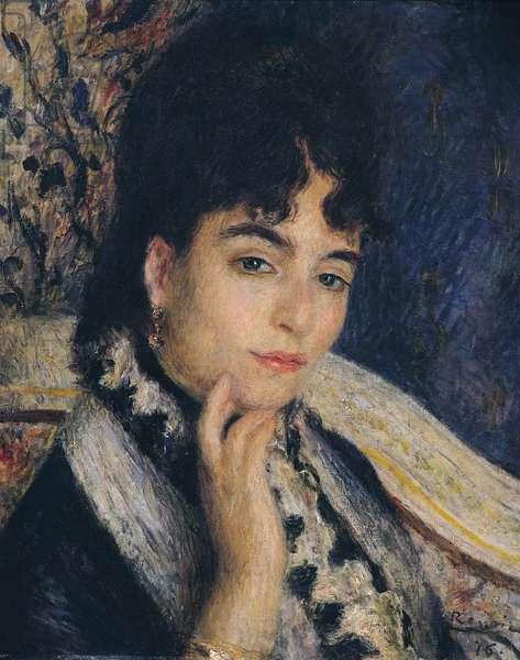 Portrait of Madame Alphonse Daudet (1844-1940) 1876 (oil on canvas)