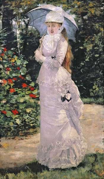 Madame Valtesse de la Bigne, 1889 (oil on canvas)