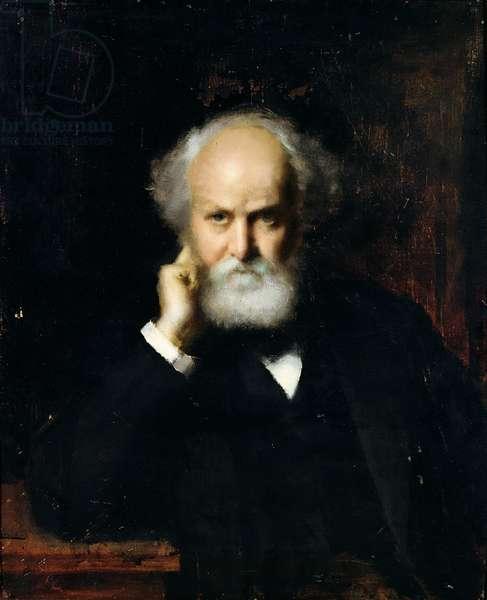 Jules Janssen (1824-1907) (oil on canvas)
