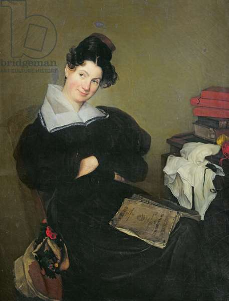 Portrait of Madame Bail, c.1830 (oil on canvas)