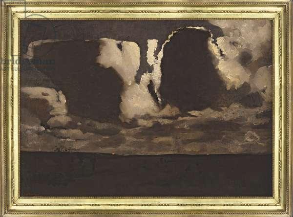 Moonlight, 1887 (oil on canvas)