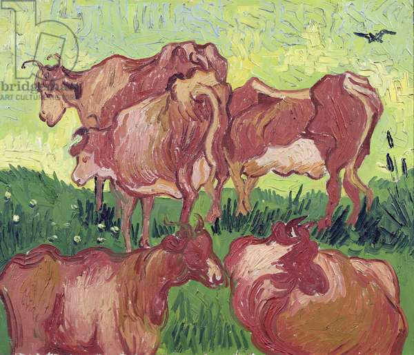 Cows, 1890 (oil on canvas)
