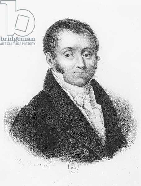 Emmanuel, Comte de Las Cases (engraving)