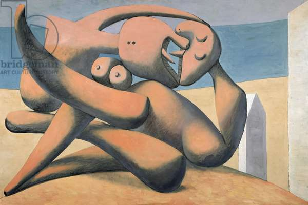 Figures on the Seashore, 1931 (oil on canvas)