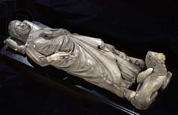 Tomb of Philippe III (1245-85) the Bold (marble)
