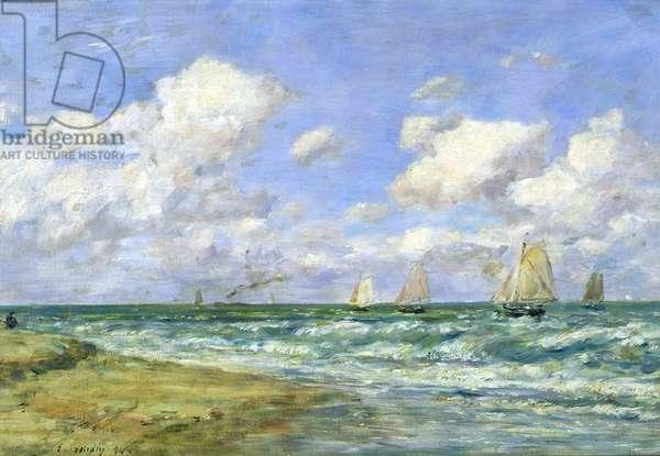 Marine scene, 1894 (oil on canvas)