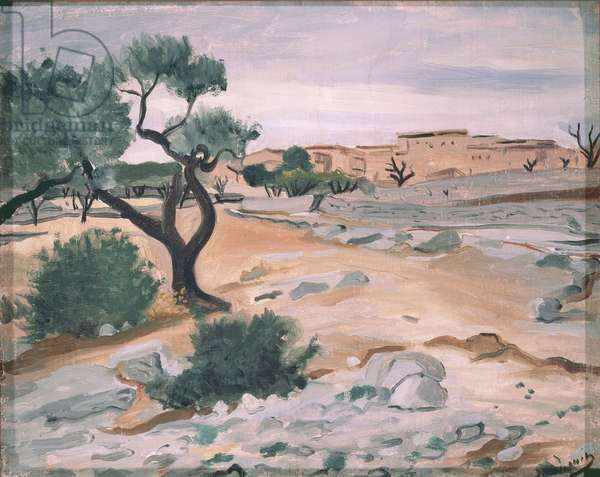 Landscape in Provence, c.1930 (oil on canvas)