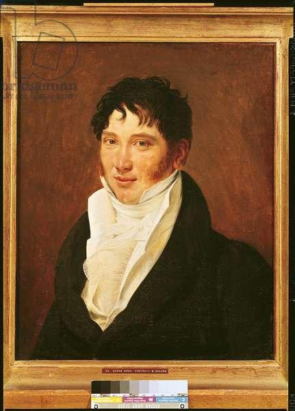 Portrait of Antoine Jerome Balard (1802-76) (oil on canvas)