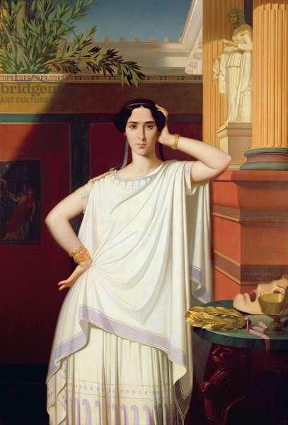 Tragedy or, Portrait of Rachel, 1854 (oil on canvas)