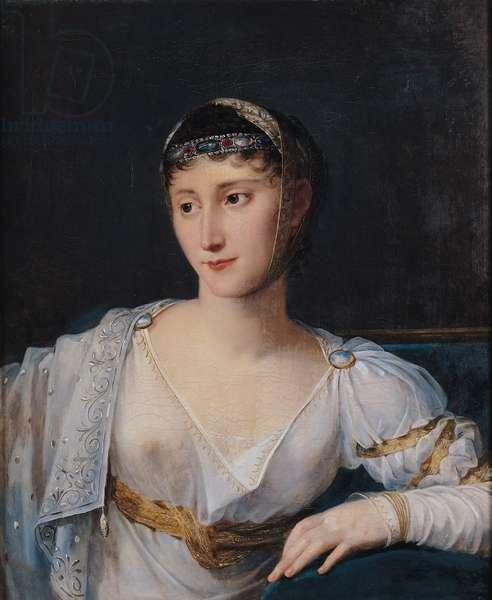 Portrait of Marie-Pauline Bonaparte (1780-1825) Princess Borghese, 1806 (oil on canvas)